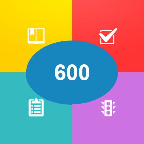 600 câu hỏi thi sát hach lái xe ô tô