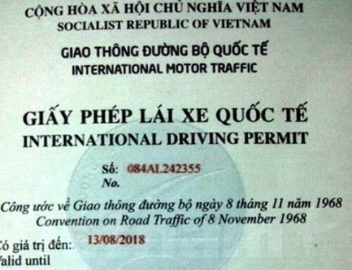 Hệ thống giấy phép lái xe tại Việt Nam