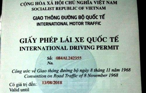 Giấy phép lái xe