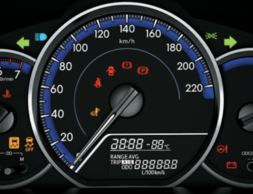 Làm quen các bộ phận cơ bản trong buồng lái xe ô tô
